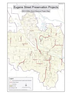 2008 Bond Measure Project Map
