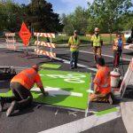 Amazon Active Transportation Corridor construction
