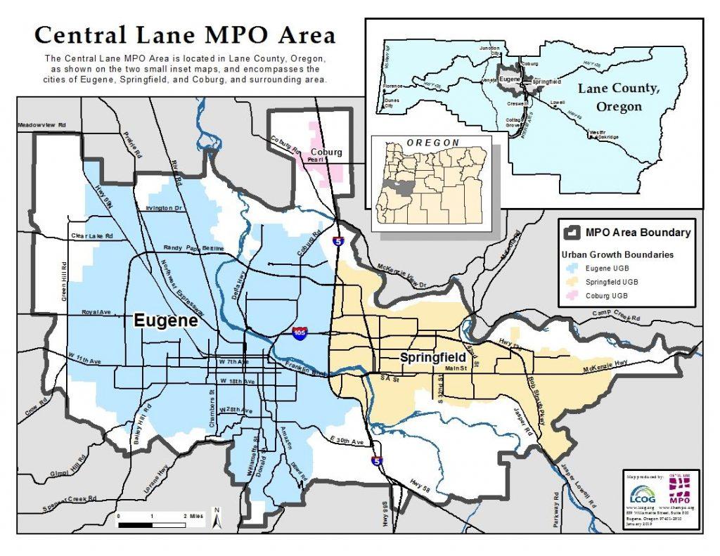 Central Lane MPO Area