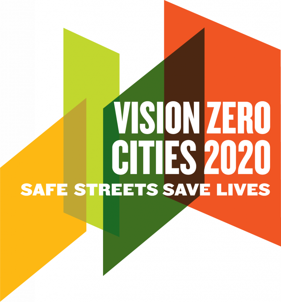 Vision Zero Cities 2020 logo
